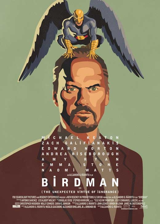 Film Review Birdman Or The Unexpected Virtue Of Ignorance