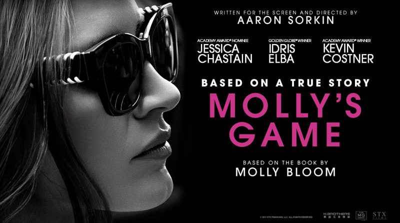 Image result for molly's game film poster