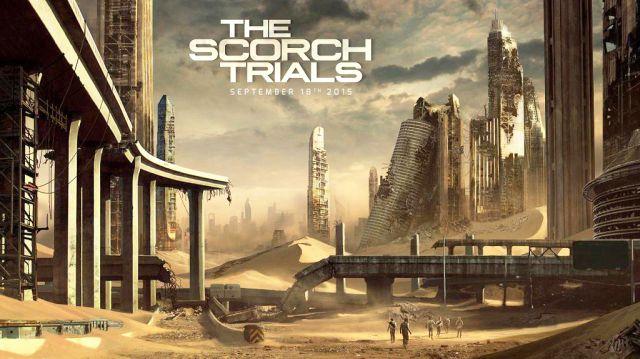 Maze Runner, Scorch Trials